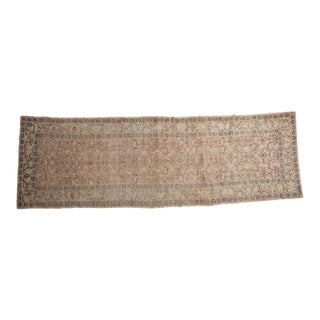 "Vintage Distressed Kayseri Rug Runner - 3'1"" X 9'6"" For Sale"