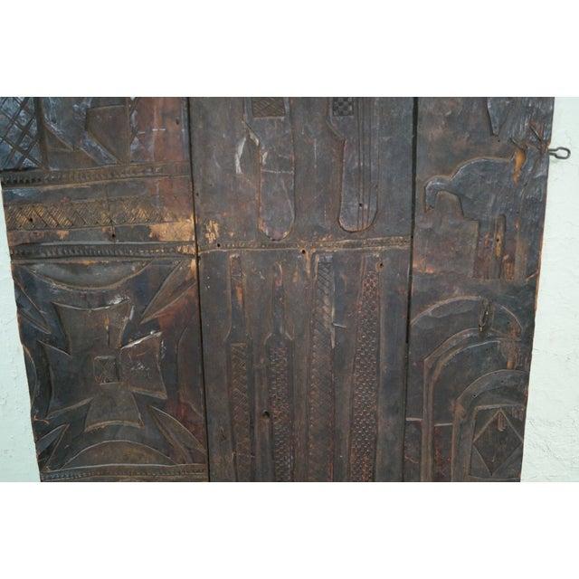 Tribal African Dogan Door (C) For Sale In Philadelphia - Image 6 of 10