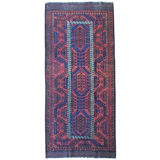 Antique 19th Century Baluch Rug