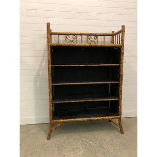 Late 19th Century Victorian Japanese Export Bamboo Etagere Bookcase Preview