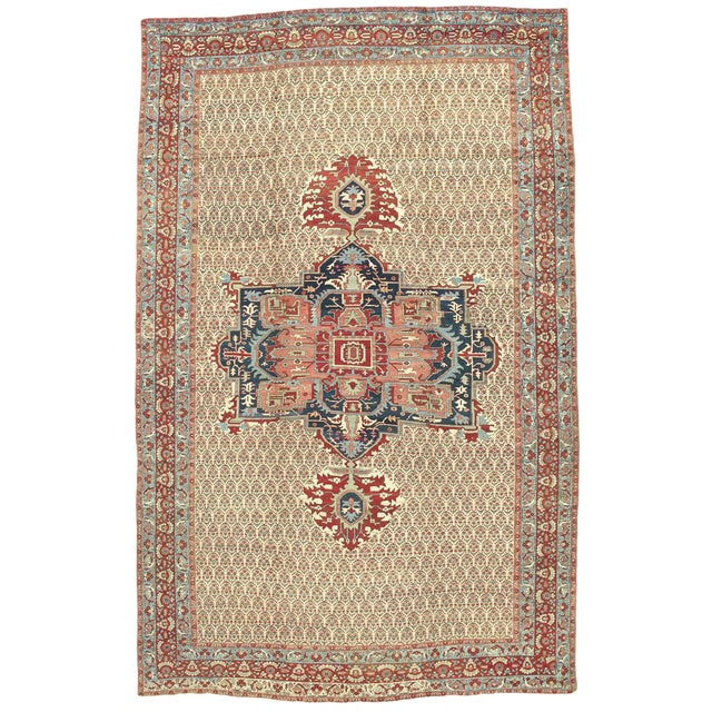 Northwest Persian Bakhshaish Carpet - Image 1 of 1