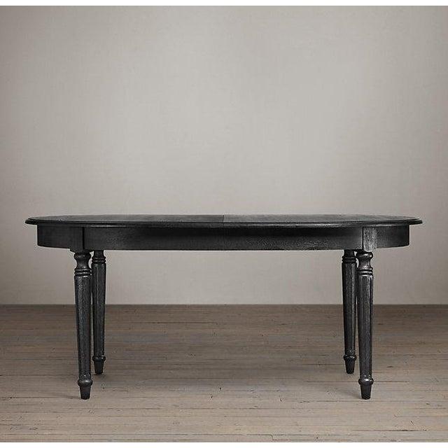 Restoration Hardware Black Dining Table - Image 7 of 7