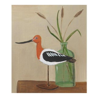 Avocet Shorebird Still Life