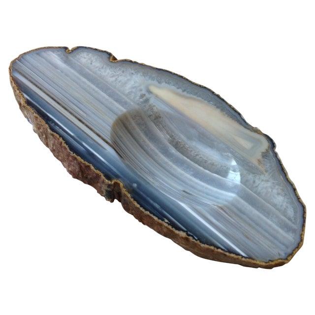 Striped Agate Quartz Dish - Image 1 of 11