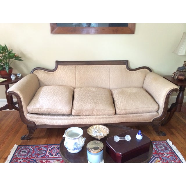 Duncan Phyfe Antique Sofa For Sale - Image 5 of 8