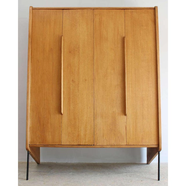 Mid-Century Modern Claude Vassal Attributed Wardrobe For Sale - Image 3 of 7