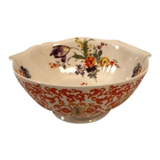 Selletti Co. Porcelain Floral Bowl