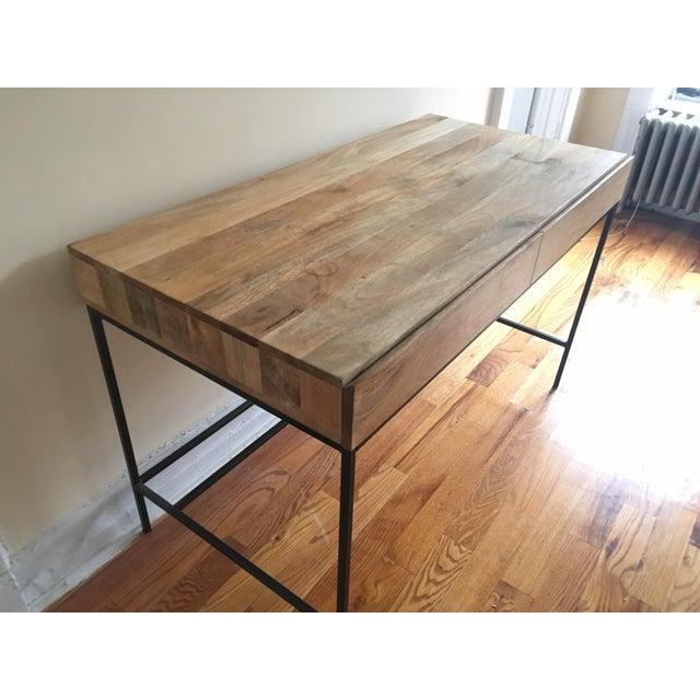 West Elm Industrial Storage Desk Chairish