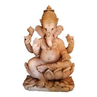 19th Century Marble Ganesh Deity For Sale