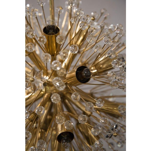 """Snowflake"" Crystal Chandelier by Emil Stejnar For Sale In Chicago - Image 6 of 11"