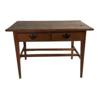 19th Century Pine Table or Desk For Sale