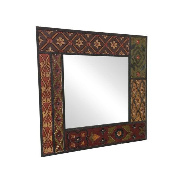 Vintage Wood Mirror - Image 1 of 8