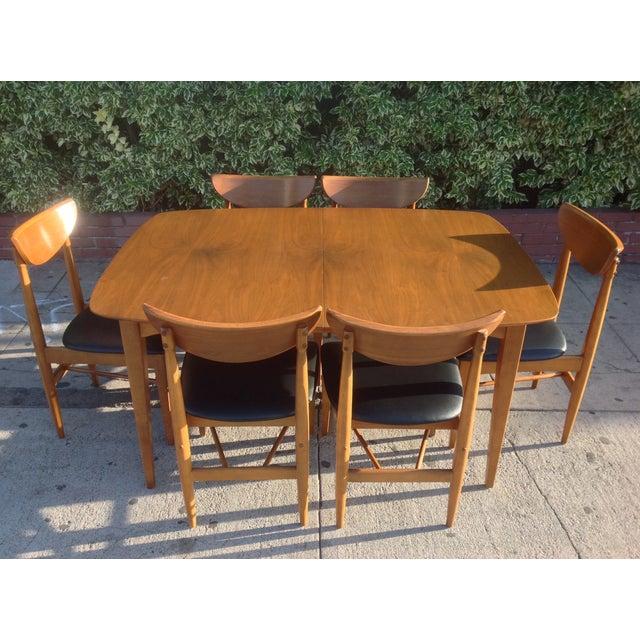 1960's Walnut Dining Set, B.P. Furniture - Image 2 of 7