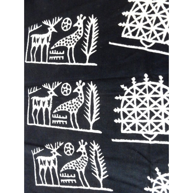 Superb BlackTurkish Cloth throw or Table cloth Tokat Yazma The tradition of Tokat Yazma has a history of six centuries in...