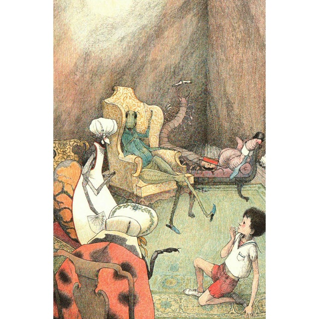 """Mid-Century Modern 1961 """"James and the Giant Peach"""" Coffee Table Book For Sale - Image 3 of 6"""