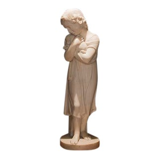 Italian Marble Figure For Sale