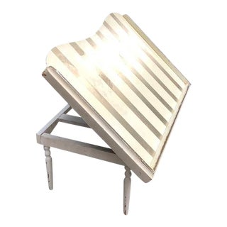 Vintage Mid Century Folding Lap Stand For Sale