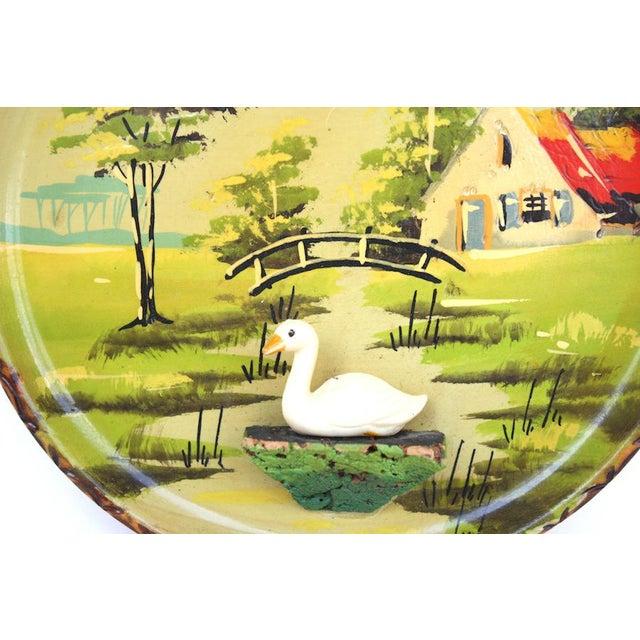 Cottage Vintage Holland Souvenir Plate For Sale - Image 3 of 7