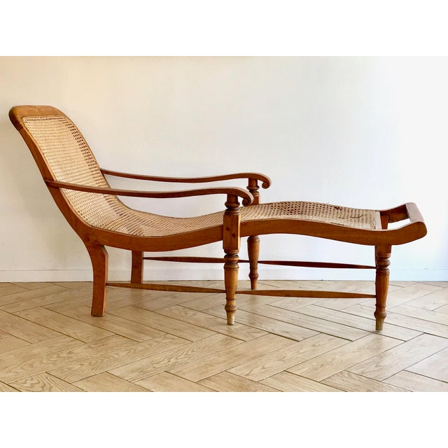 Early 20th Century Antique Bauer Plantation Chaise Lounge For Sale - Image 13 of 13
