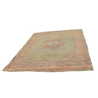 "1950s Vintage Demergi / Ghordies Oushak Rug - 9'4""x12'3"" For Sale"