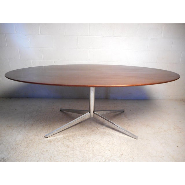 Mid-Century Modern Midcentury Dining Table by Knoll For Sale - Image 3 of 13