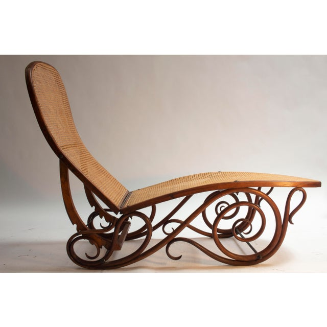 Late 19th Century Bentwood Chaise Lounge Barcelona For Sale - Image 5 of 5