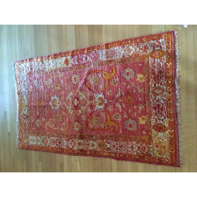 Silk Oriental Rug - 3'5'' x 6' - Image 2 of 7