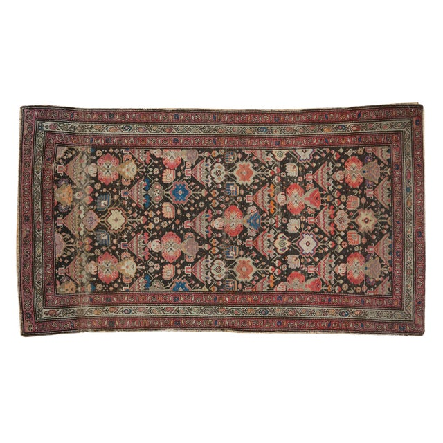 "Antique Malayer Rug - 3'7"" x 6'6"" For Sale"