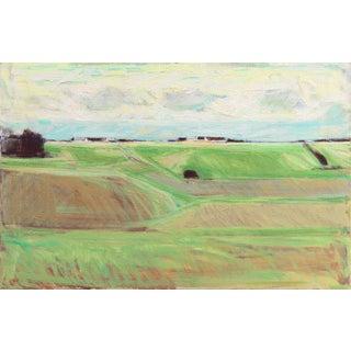 Erik Norgard September Landscape 1971 For Sale