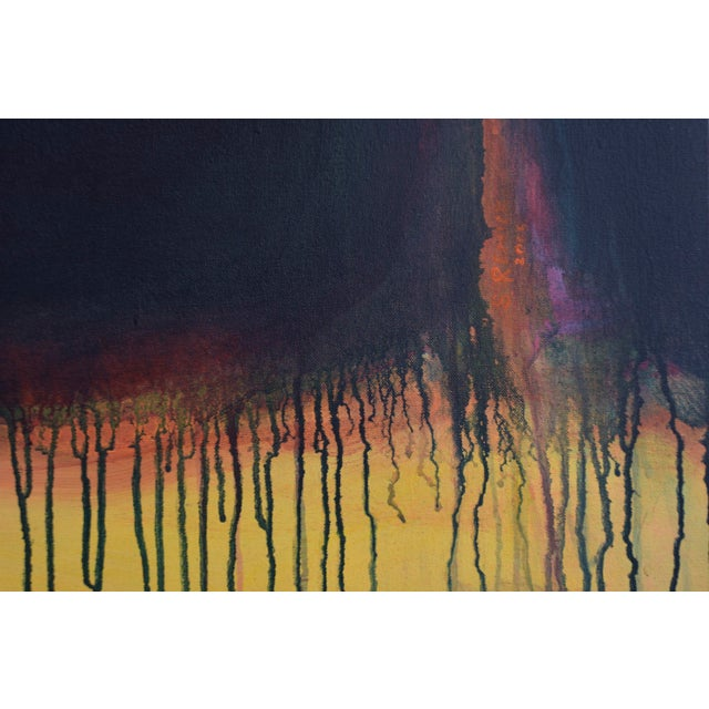 """Yellow Sunset"", Contemporary Abstract Painting by Stephen Remick For Sale In Providence - Image 6 of 9"