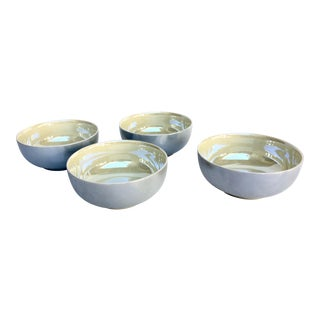 "Swid Powell ""Luster"" Coupe Bowls - Set of 4 For Sale"