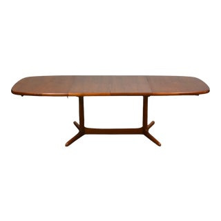 Danish Teak Extendable Dining Table by Rasmus For Sale
