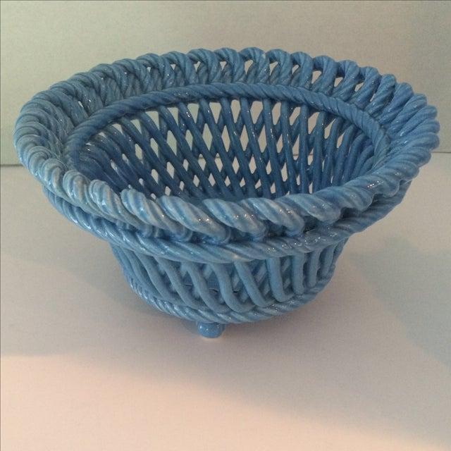 Blue Italian Potpourri Covered Dish - Image 5 of 9