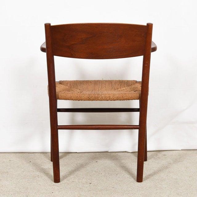 Soborg Mobler Borge Mogensen Set of 10 (2 Arm + 8 Side) Danish Teak Dining Chairs For Sale - Image 4 of 9