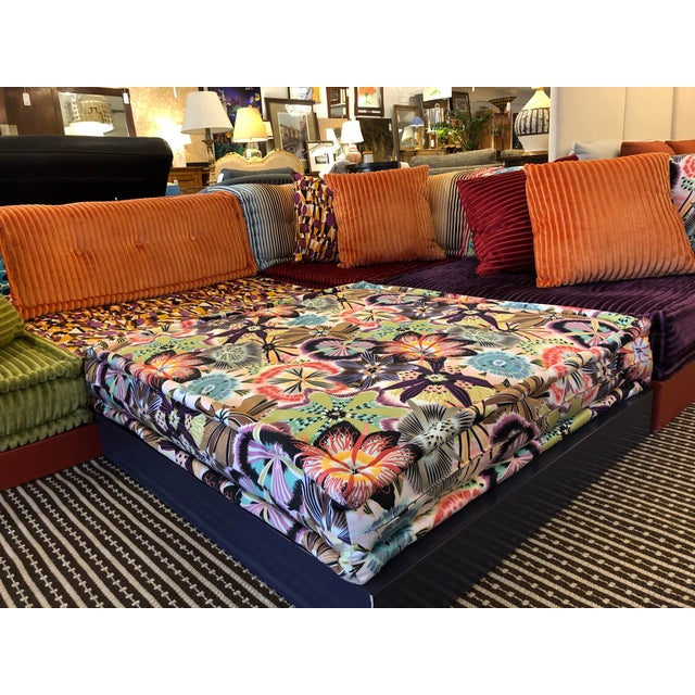 Missoni Mah Jong Sectional by Roche Bobois For Sale - Image 9 of 13