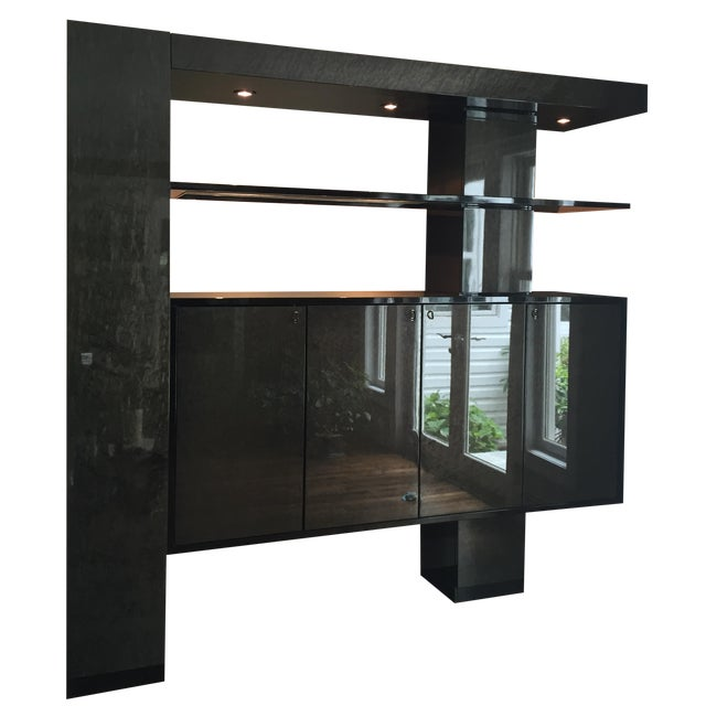 Maurice Villency Wall Unit - Image 1 of 4
