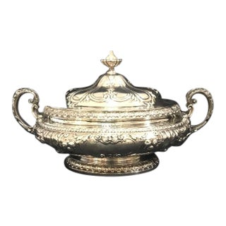 "Gorham Sterling ""Chantilly"" Lidded Tureen For Sale"