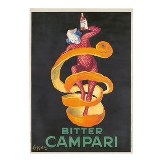 1921 Bitter Campari Original Poster For Sale