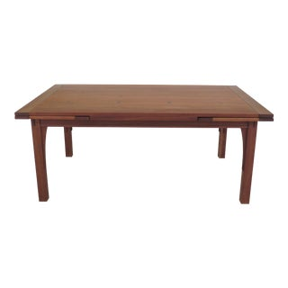 Stickley Arts & Crafts Style Cherry Dining Table For Sale