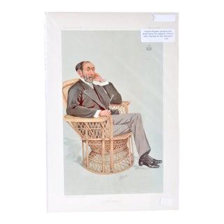 "Vanity Fair Man, ""Statesman. No. 652."" For Sale"