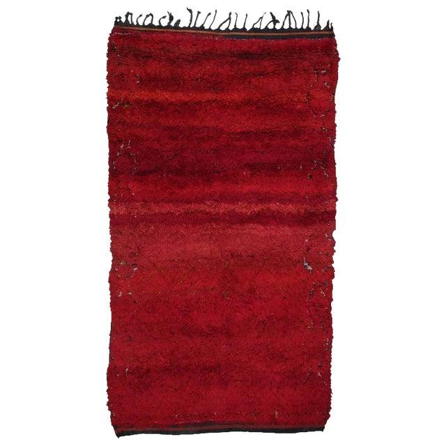 """Firebird"", Zayan Moroccan Berber Carpet For Sale"