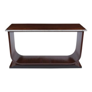 French Art Deco Modern Console For Sale