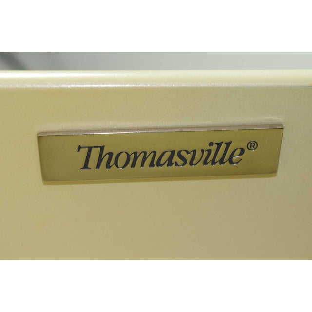 Thomasville Thomasville Grasscloth Chest of Drawers For Sale - Image 4 of 8
