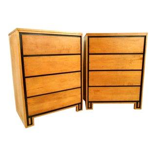 Pair Conant-Ball Highboy Dressers by Leslie Diamond
