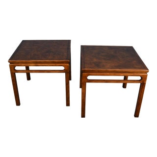 Pair of Baker Mid Century Side / Occasional Tables For Sale