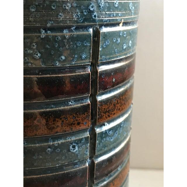 Mid-Century Italian Sgraffito Vase - Image 5 of 6