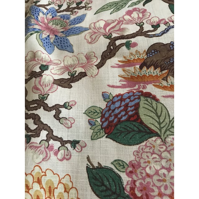 G P & J Baker Magnolia Colorful Linen Fabric - 10 Yards For Sale - Image 10 of 11