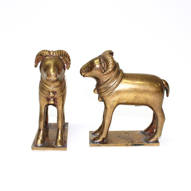 Early 20th Century Ram Bookends - A Pair - Image 4 of 5