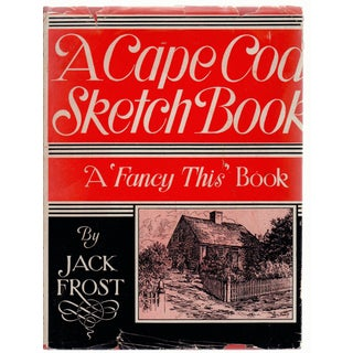 A Cape Cod Sketch Book by Jack Frost For Sale