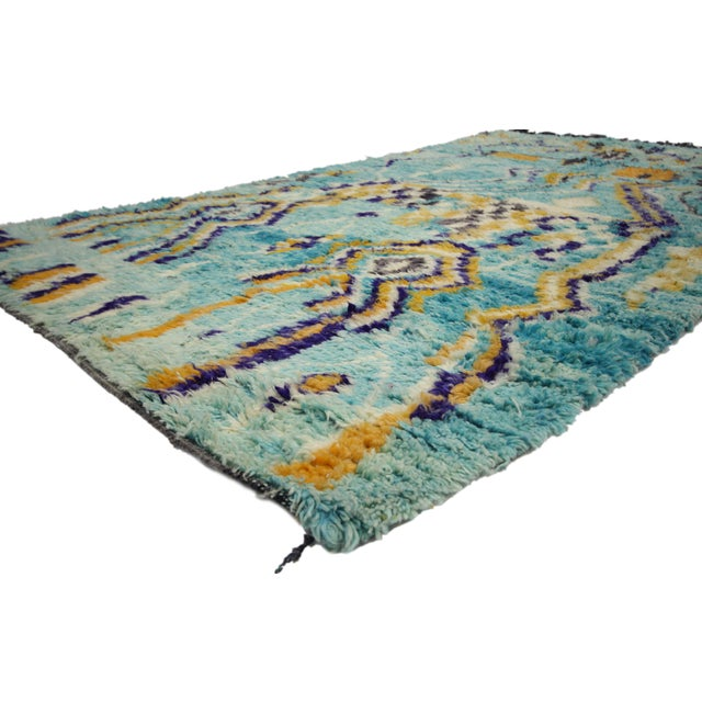 With funky bold pops of color, elements of comfort and functional versatility, this hand-knotted wool contemporary...